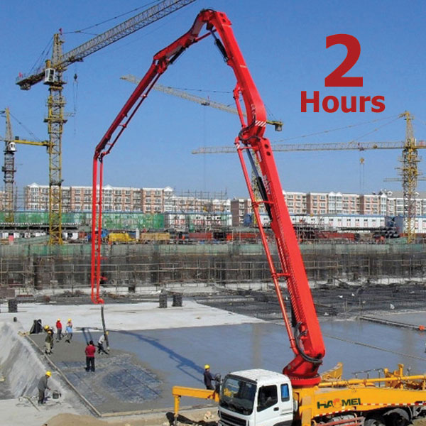 Mass Nail It Hoisting 4D Concrete Pumps